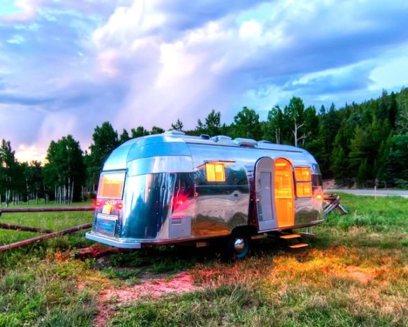 airstream trailer cool