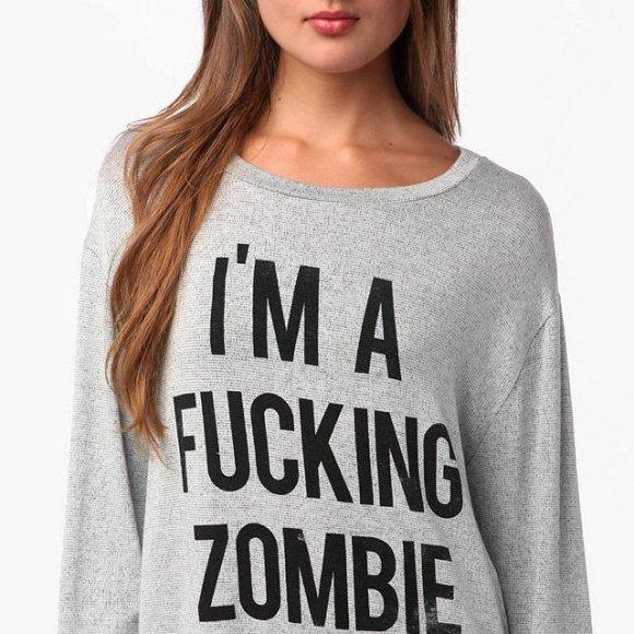 fucking zombie
