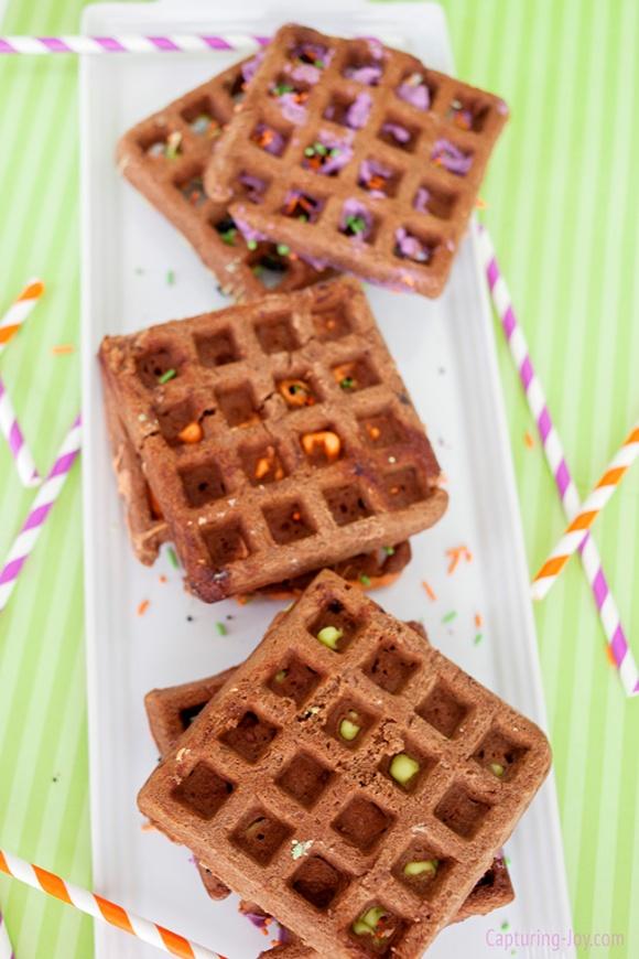 halloween-waffles